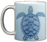 Green Sea Turtle Ceramic Mug test8