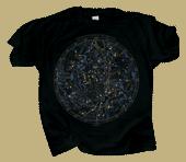 Boreal Star Chart Adult T-shirt