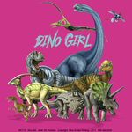 Dino Girl Youth T-shirt