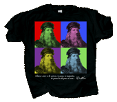 Imagine DaVinci Adult T-shirt