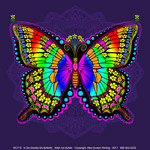 In A Gadda Da Butterfly Adult T-shirt