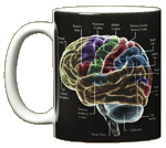 Glow Brain Ceramic Mug