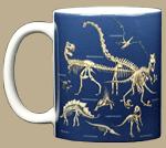 Dinosaur Bones Ceramic Mug