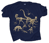 Dinosaur Bones Youth T-shirt test8