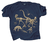 Dinosaur Bones Youth T-shirt