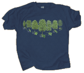 Trees of North America Adult T-shirt