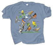 Yard Birds Adult T-shirt