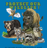 Protect Our Wildlife! Youth T-shirt