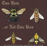 Two Bees or Not Two Bees Adult T-shirt