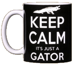 Keep Calm Gator Ceramic Mug