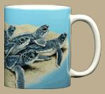Loggerhead Dash Ceramic Mug