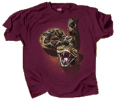 Rattler Heads & Tails Adult T-shirt