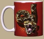 Rattler Heads & Tails Ceramic Mug