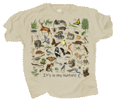 It's In My Nature Adult T-shirt