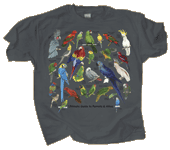 Ultimate Parrot Guide Adult T-shirt