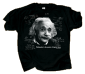 Einstein's Logic Adult T-shirt