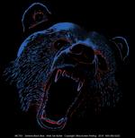 Extreme Black Bear Adult T-shirt test8