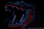 "Extreme Gator 2"" X 3"" Magnet"
