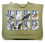 Bird Nerd Canvas Tote