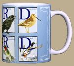 Bird Nerd Ceramic Mug