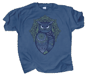 Spirit Owl Adult T-shirt
