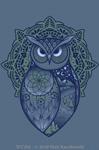 "Spirit Owl 2"" X 3"" Magnet"