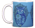 Spirit Owl Ceramic Mug
