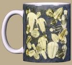 Trilobite Fossils Ceramic Mug - Front