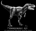 Retro Rex Adult T-shirt