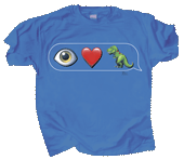 I Love T-Rex Emojis Youth T-shirt