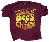 Give Bees a Chance Adult T-shirt