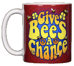 Give Bees A Chance Ceramic Mug
