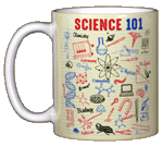 Science 101 Ceramic Mug