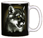 Eye of the Panther Ceramic Mug - Back