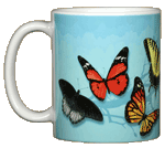 Butterfly Fancy Ceramic Mug