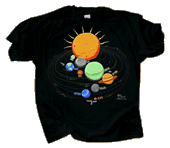 Solar System Glow Youth T-shirt