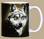 Eye of the Wolf Ceramic Mug - Back