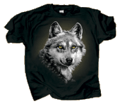 Eye of the Wolf Adult T-shirt