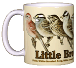 Little Brown Jobs Ceramic Mug