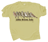 Little Brown Jobs Adult T-shirt