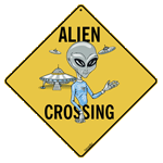 Alien Crossing - Front
