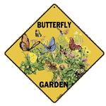 Butterfly Garden Sign - Front