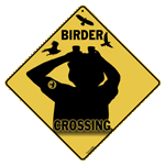 Birder Crossing Sign