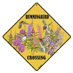 Western Hummers Crossing Sign - Front