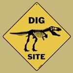 Dig Site Sign