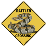 Rattler Crossing Sign