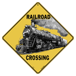 Railroad Crossing Sign test8