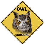 Owl Crossing Sign test8