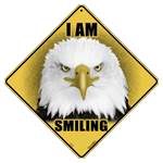 I Am Smiling Eagle Sign test8