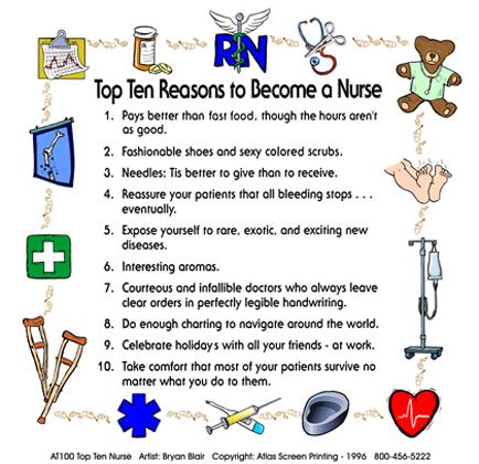 Top Ten Nurse